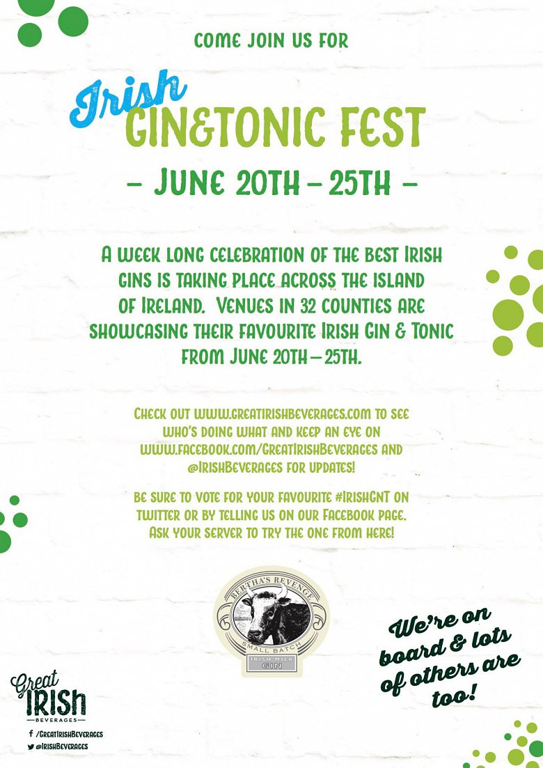 Irish Gin & Tonic Festival