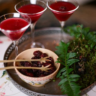Bertha's Hedgerow Martini