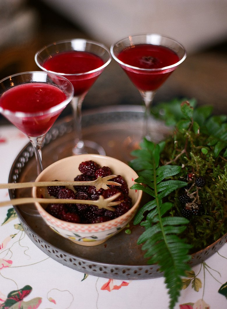Bertha's Revenge Gin Hedgerow Martini