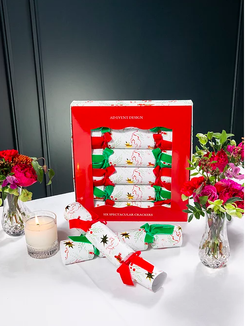 Limited Edition Luxury Christmas Crackers by AD Event Design
