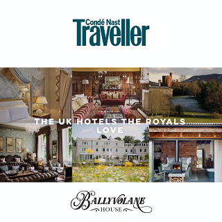 CONDE NAST TRAVELLER THE UK HOTELS THE ROYALS LOVE Ballyvolane House